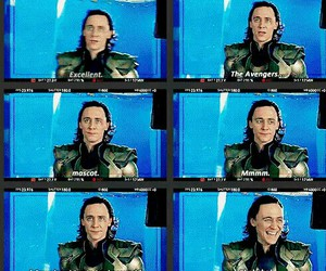Avengers, loki, and bloopers image