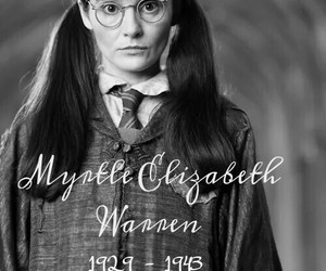 harry potter, j.k. rowling, and moaning myrtle image