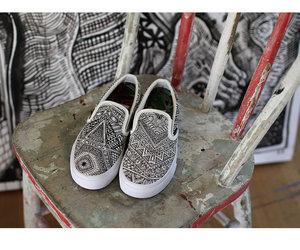 beautiful, graffiti, and shoes image