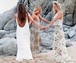 beach and dress image