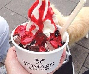 ice cream, yummy, and chocolate image