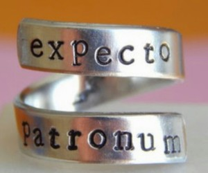 harry potter, ring, and expecto patronum image