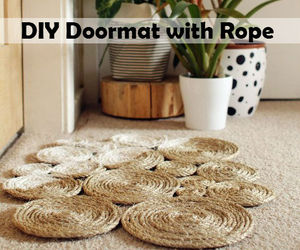 diy, doormat, and rope image