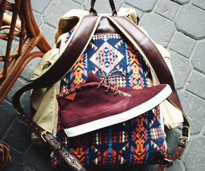 shoes, bag, and hipster image