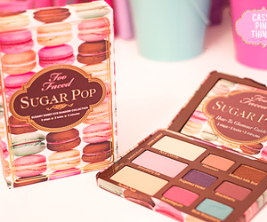 makeup, too faced, and sugarpop image