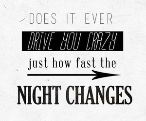 one direction, night changes, and change image