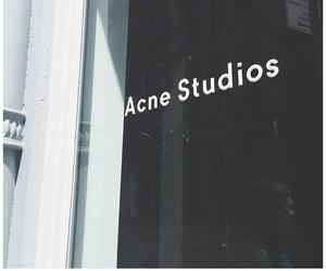 fashion and acne studios image