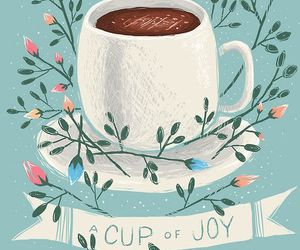 cup, coffee, and joy image