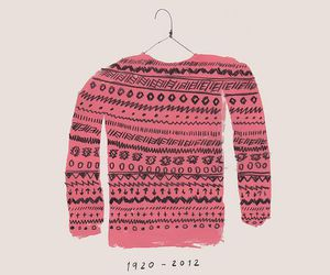 sweater and art image