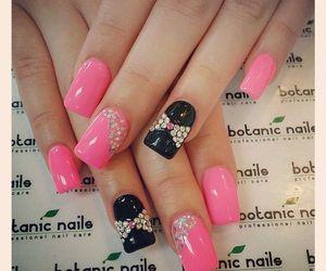 beauty, botanic nails, and fashion image