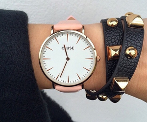 fashion, watch, and cluse image