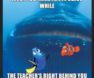 class, dory, and finding nemo image