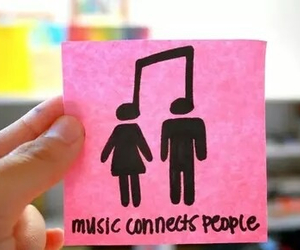 music, people, and connects image