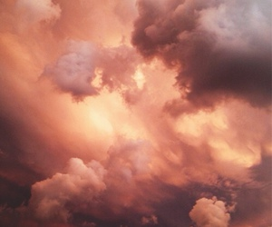 clouds, sky, and heaven image