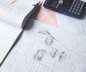 art, drawing, and math image