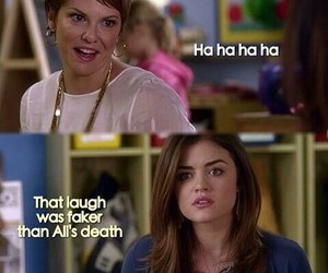 pll, laugh, and aria image