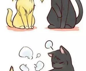 cat, anime, and neko image