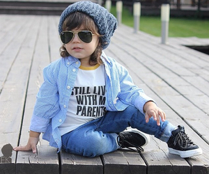 fashion, kids, and sweet image