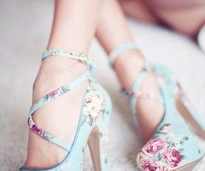 chic, fashion, and bridal shoes image
