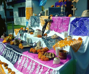 colorful, mexico, and dead image