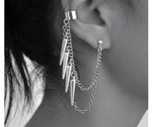 beauty, earring, and inspiration image