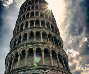 italy, Pisa, and sun image