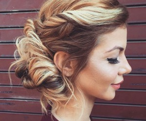 hairstyle and blonde hair image