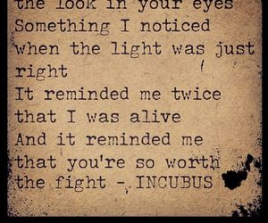 alive, incubus, and light image