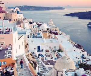 Greece, travel, and santorini image