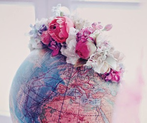 flowers, world, and Dream image