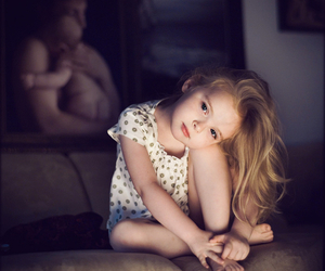 child, girl, and little image