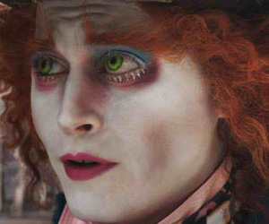 johnny depp, alice in wonderland, and wonderland image