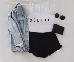 fashion, selfie, and girly image