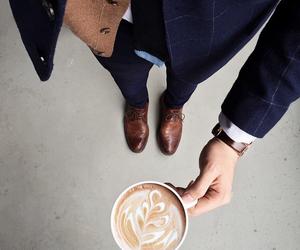 coffee, gentleman, and shirts image