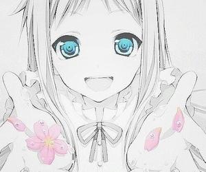 anime, menma, and kawaii image