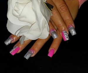 nails acryl beautiful image