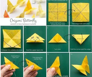 origami and butterfly image