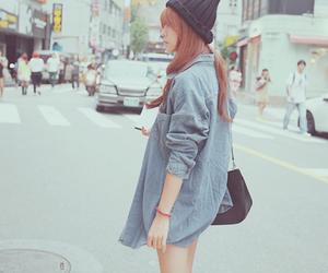 girl, asian, and korean fashion image