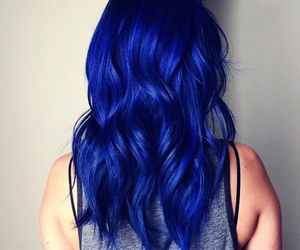 blue, hair, and bluehair image