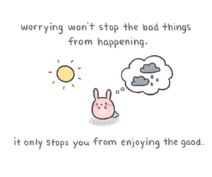 chibird, quote, and worry image