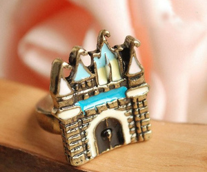 castle, ring, and fashion image