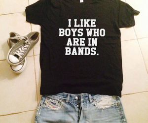 bands, outfit, and boy image