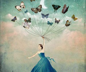 butterfly, art, and Dream image