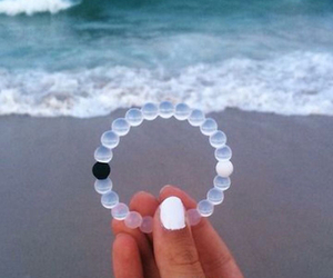 beach, bracelet, and healthy image