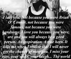 inspiration, paul walker, and rip image