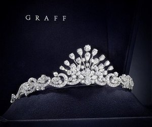 crown, diamond, and luxury image