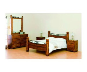 bed, bedroom, and furniture image