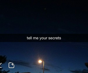 secret, snapchat, and night image