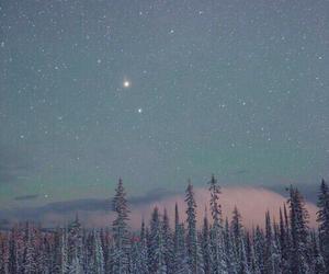 stars, beautiful, and light image