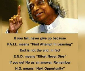 quote, fail, and positive image